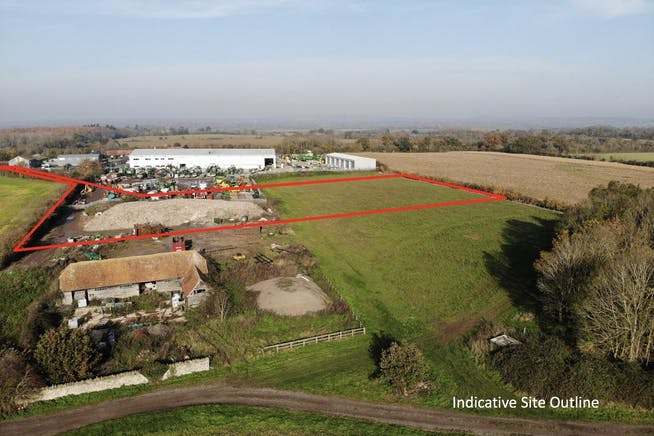 Industrial Development, Rycote Lane Farm, Milton Common, Office / Industrial To Let - SOUTH OUTLINE.jpg