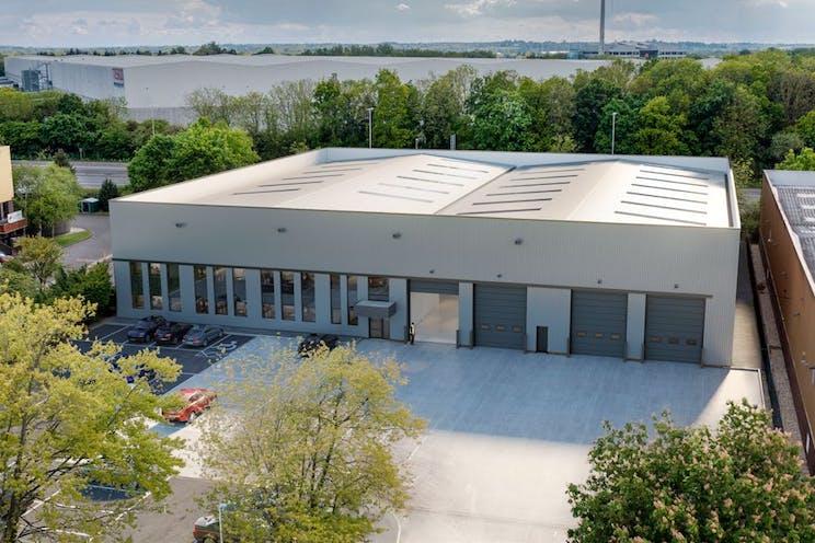 Unit 4 Worton Grange, Reading, Industrial To Let - CGI  Refurbished Yard Area