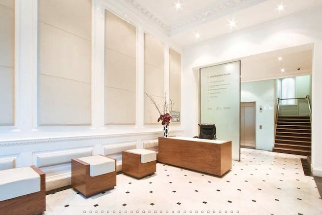 10-11 Grosvenor Place, London, Office To Let - REception.PNG