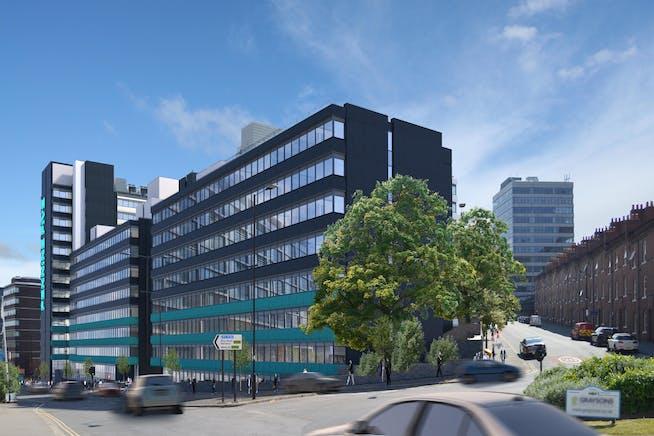 Pennine Five, Tenter Street, Sheffield, Offices To Let - P5 - Street Image 2.jpg