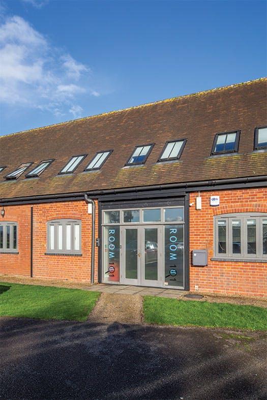 Unit 1 The Bullpens, Basingstoke, Offices To Let - The_Bullpens_Unit_1_front_door.jpg