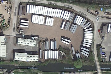 Secure Yard At Colthrop Lane, Thatcham To Let / For Sale - Aerial photo.jpg