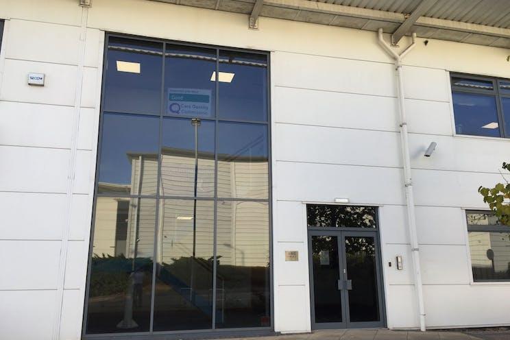 North Office, Unit 2, Harbour Gate Business Park, Portsmouth, Office To Let - entrance.jpg