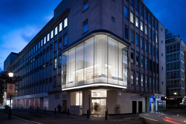 1 James Street, London, Office To Let - External at night whole building.jpeg