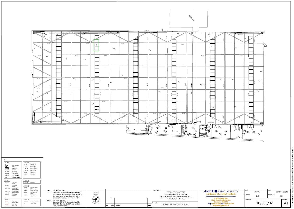 Milethorn Works, Milethorn Lane, Doncaster, Warehouse & Industrial To Let - Existing Layout plan.JPG