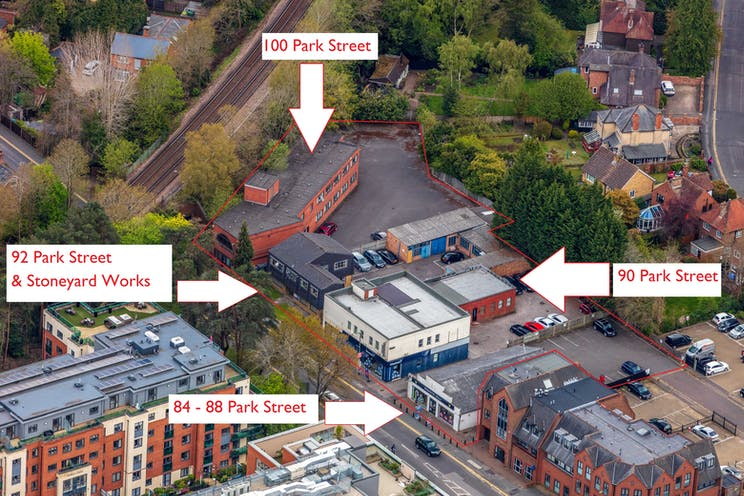 84-100, Park Street, Camberley, Development (Land & Buildings) / Investment Property / Offices / Retail For Sale - HLP_OB_210505_9943 named buildings web.jpg