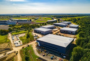 Unit 1500, Silverstone Park, Silverstone, Industrial To Let - Silverstone Drone Oct.jpg - More details and enquiries about this property