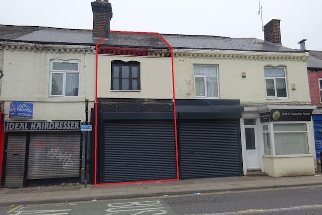 521-521a Abbeydale Road, Sheffield, Development (Land & Buildings) / Offices / Retail For Sale - Redline approximate.jpg
