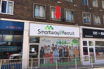 3 Victoria Way, Woking, Retail To Let - 3 victoria way with arrow.jpg