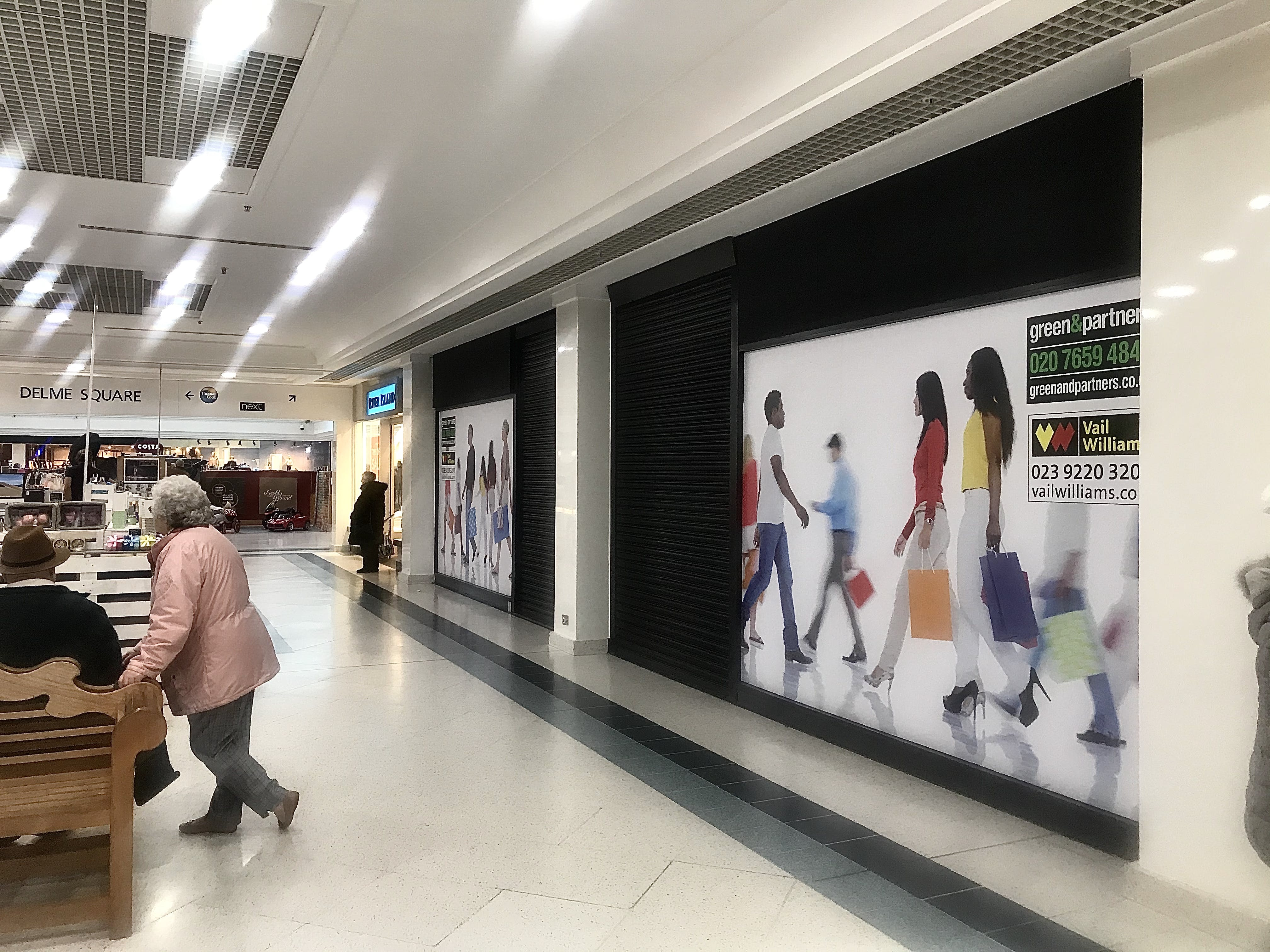 Unit 20-21 (13 - 15 Westbury Mall) Fareham Shopping Centre, Fareham