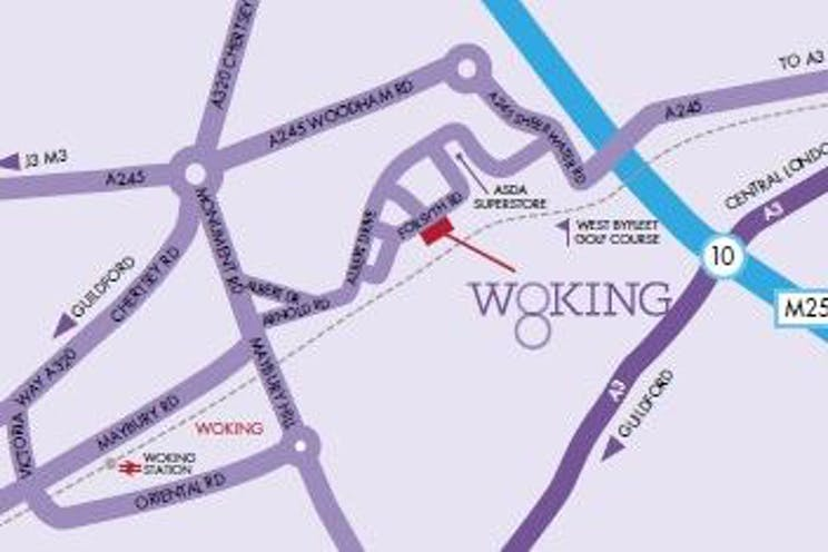 Ground Floor Unit 4, Woking 8, Forsyth Road, Woking, Offices To Let - woking 8 map.jpg