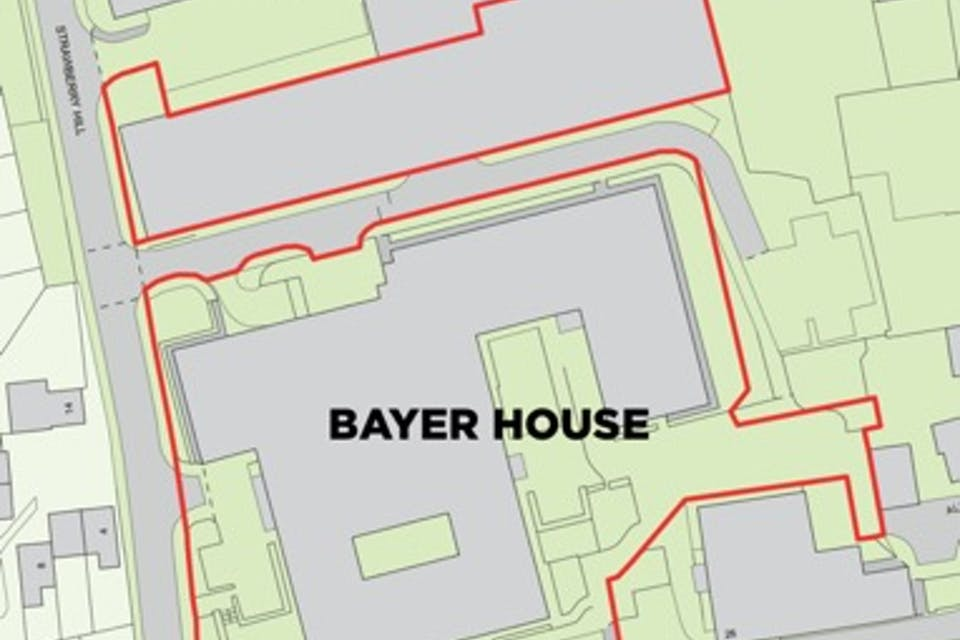 Bayer House, Strawberry Hill, Newbury, Development Potential / Investment For Sale - Bayer House Site.jpg