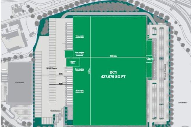 Dc1 Prologis Park, Kettering, Distribution Warehouse To Let - DC1 Prologis Park Kettering.JPG