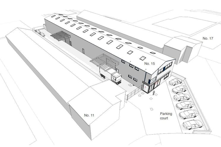 15 Boulton Road, Reading, Industrial / Open Storage / Land To Let / For Sale - elevations.JPG