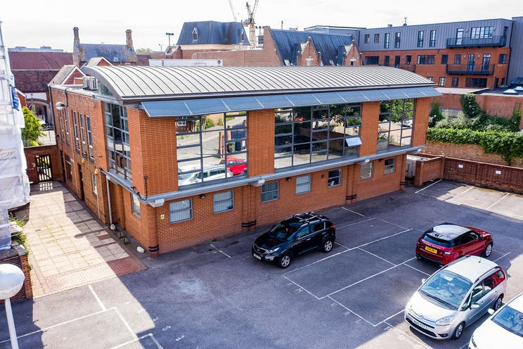 17 Bartholomew Street, Newbury, Office / Development / Residential For Sale - NewburyBuildingSocietydrone06.jpg
