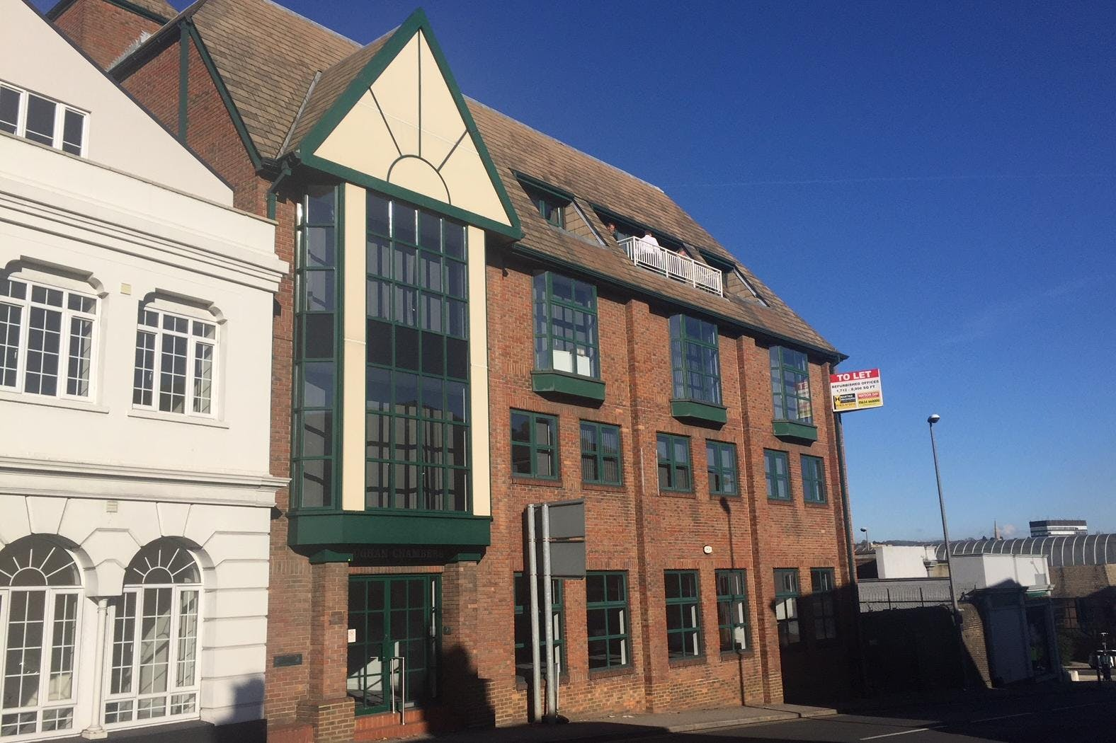 Vaughan Chambers, 4 Tonbridge Road, Maidstone, Office To Let - Vaughan Chambers Front.jpeg
