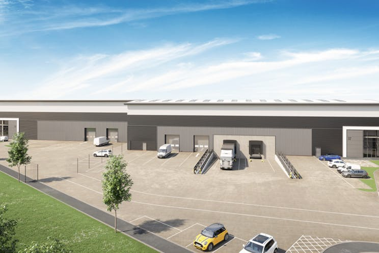 Verda Park, Hithercroft Road, Wallingford, Industrial To Let - CGI of Units 310 & 320
