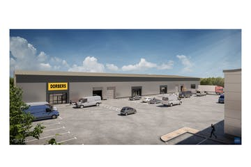 3 Beacon Trade Park, Beacon Hill Road, Fleet, Warehouse & Industrial To Let / For Sale - single unit CGI low level front.jpg