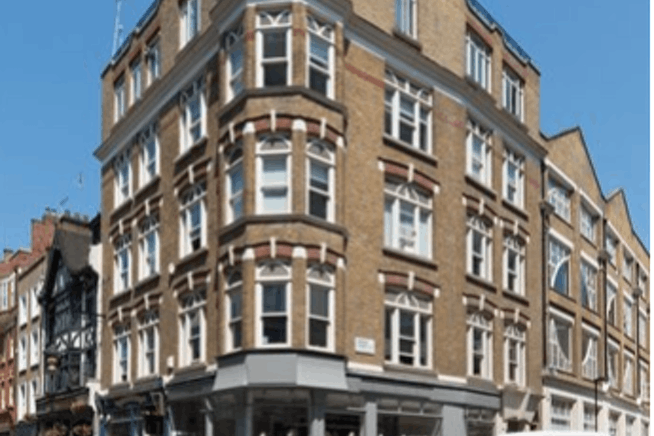 Tudor House, Tudor House, London, Office To Let - Exterior Gresse St.png