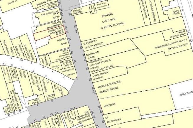 55/57 Week Street, Maidstone, Retail For Sale - Location Map.jpg