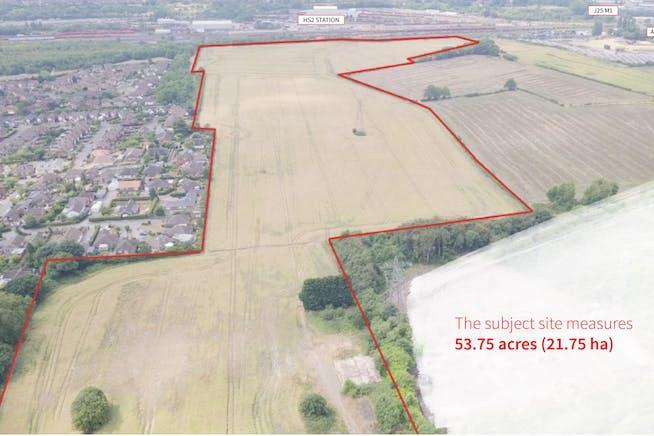 Strategic Development Land, Toton Lane, Nottingham, Land For Sale - Aerial of Site.jpg