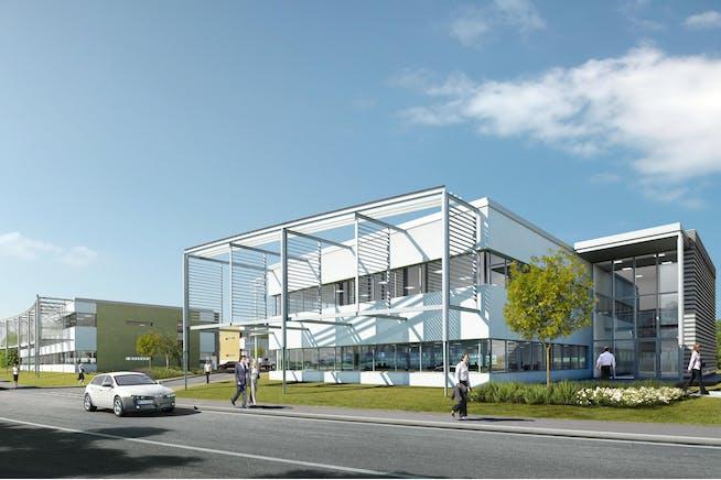 Development Plots - Eureka Business Park, Trinity Road, Ashford, Office / Development To Let / For Sale - 100528-Northdown Entrance.jpg