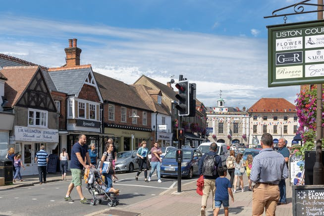 4-5 Market Square, Marlow, Offices To Let - View from High St