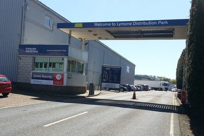 Lympne Distribution Park, Otterpool Lane, Hythe, Warehouse / Industrial To Let - Lympne Entrance reduced.jpg