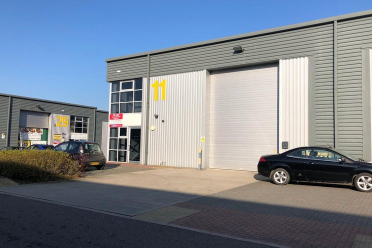 Unit 11 IO Centre, Salfords, Warehouse & Industrial For Sale - Front of building.jpg