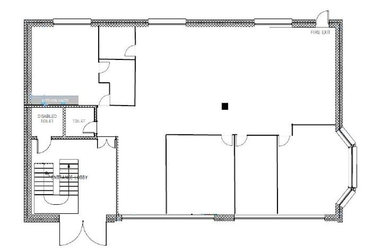 Ground Floor Unit 4, Woking 8, Forsyth Road, Woking, Offices To Let - unit 4 woking 8 floor plan.jpg