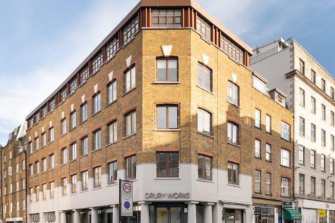 Drury Works, 161 Drury Lane, London, Offices To Let - DW External 1
