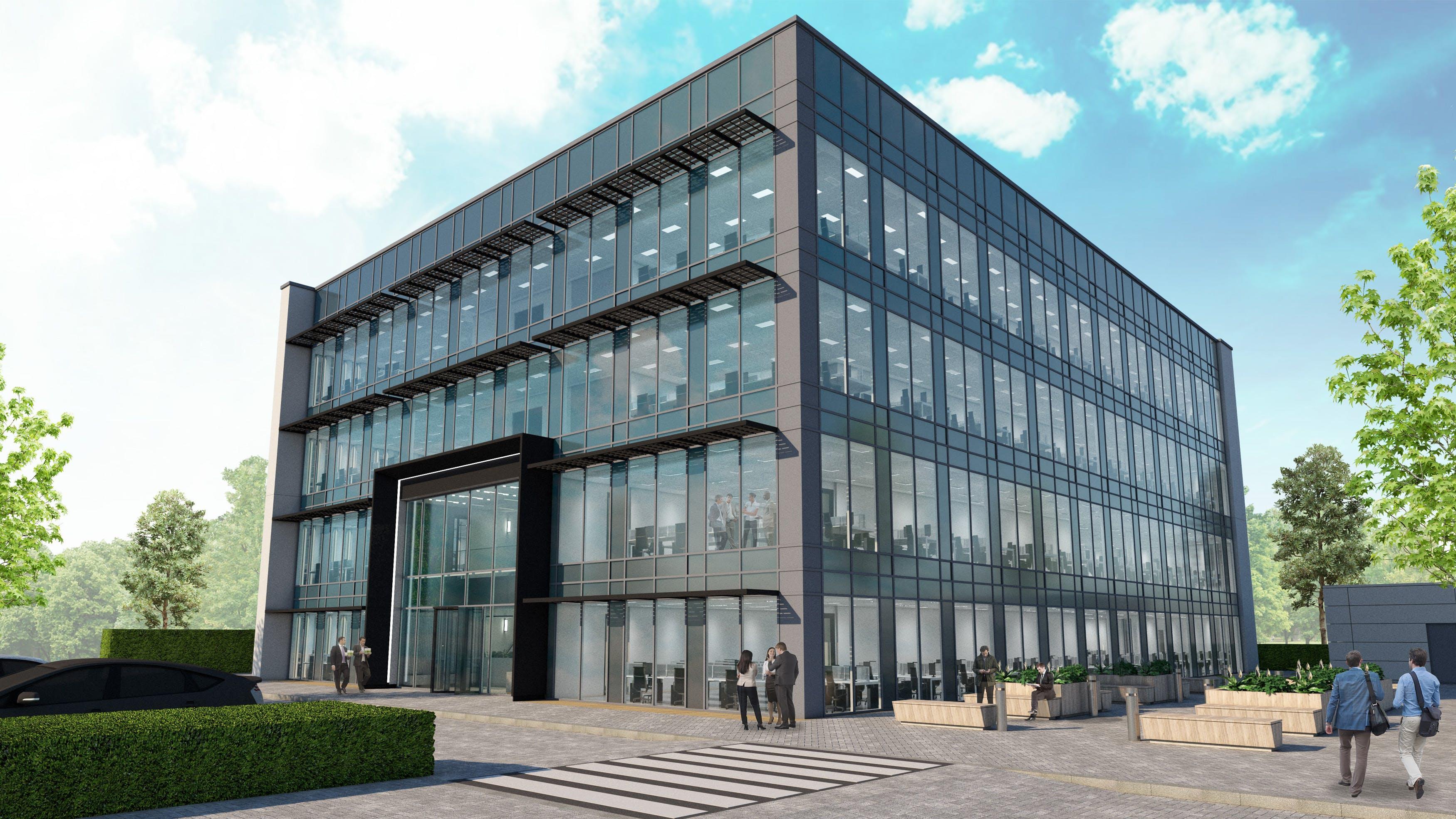Pinehurst Square 110, Farnborough Business Park, Farnborough, Offices To Let - 110 External View.jpg
