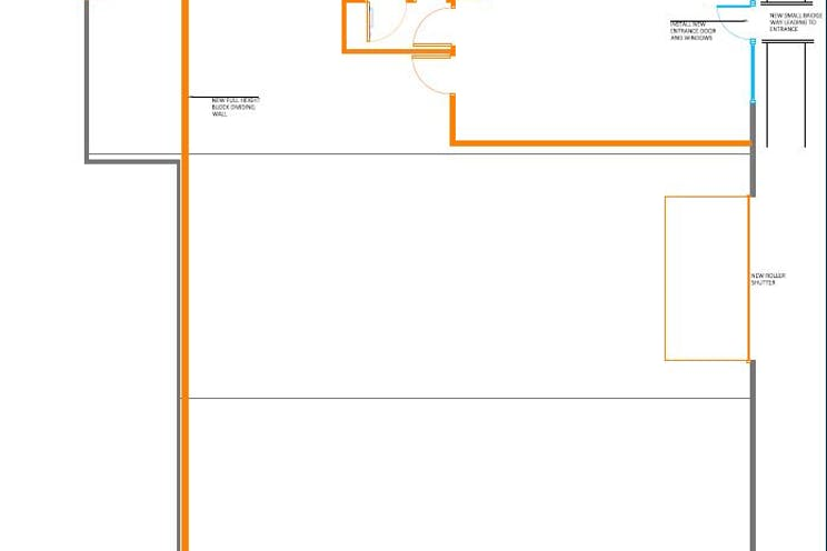 Unit 13B, Perrywood Business Park, Salfords, Warehouse & Industrial To Let - Proposed Layout Perrywoods Business Park.JPG