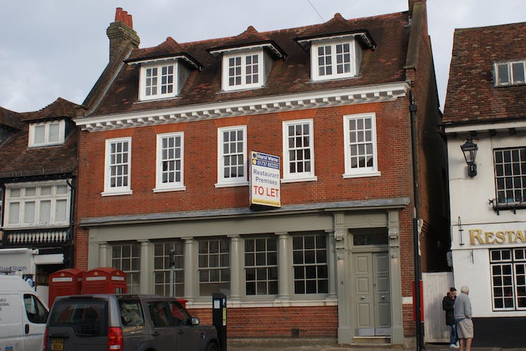 Former Banking Hall, Ground Floor, 8 Market Square, Westerham, Retail To Let - DSC04754.JPG