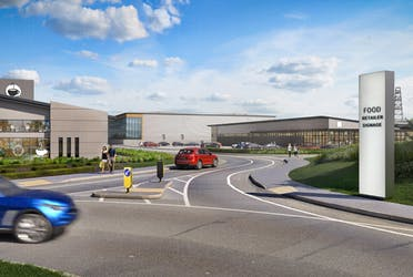 Billingshurst Business Park, Stane Street, Billingshurst, Industrial / Offices To Let - CGI  Supermarket and SS units.png - More details and enquiries about this property