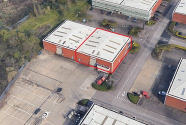 260 Centennial Park, Unit 260, Borehamwood, Industrial To Let - Aerial red line.png - More details and enquiries about this property