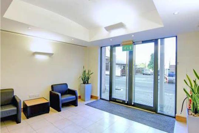 Charta House, Church Street, Staines-Upon-Thames, Office To Let - Charta House Staines reception.jpg