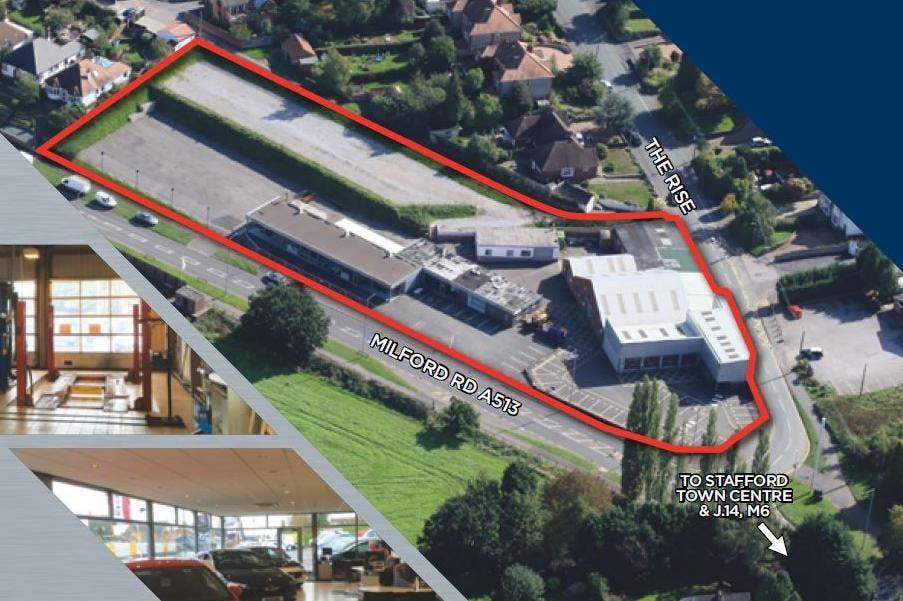 Car Dealership / Redevelopment Opportunity, Walton On The Hill, Stafford, Land For Sale - Stafford.JPG