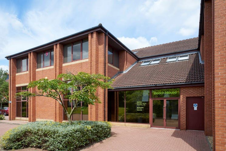 Beech House, Fleet, Offices To Let - Reception ext