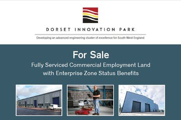 Dorset Innovation Park, Wool, Office / Industrial & Trade / Industrial & Trade / Land / Development For Sale - New brochure front page Feb 19.JPG