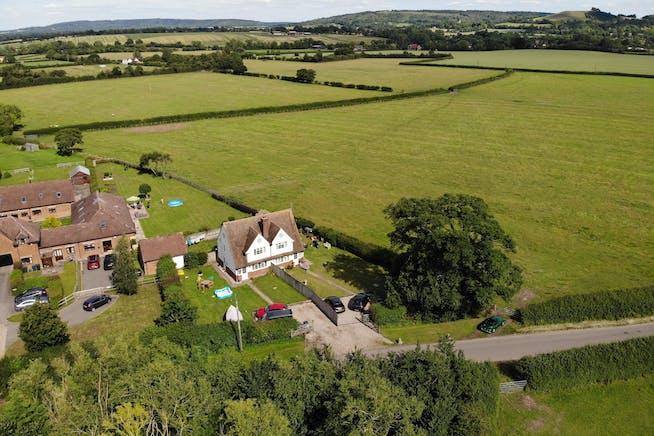 Development opportunity, Roundhill Cottages Kimblewick Road, Little Kimble, Land For Sale - 1 & 2 AERIA L 2.JPG