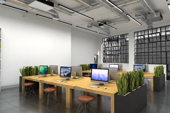 7-10 Beaumont Mews, London, Offices To Let - Ground Floor CGI