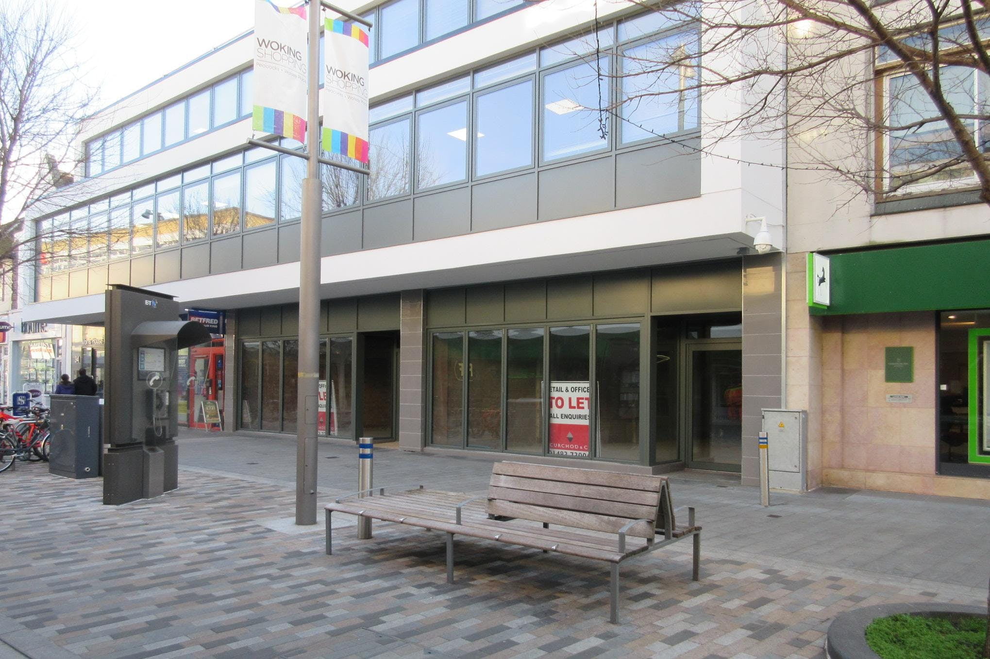Restaurant Unit 1, Morris House, 34 Commercial Way, Woking, Retail / D2 Leisure To Let - IMG_6811.JPG