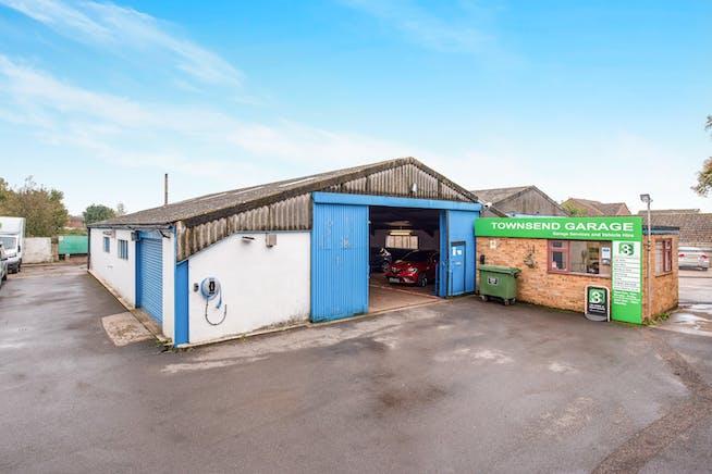 Townsend Garage Thame Road, Haddenham, Industrial For Sale - FRONTAGE.jpg