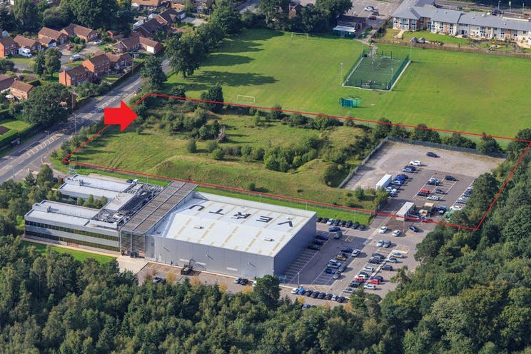 Beacon Point, Church Crookham, Fleet, Warehouse & Industrial, Offices To Let / For Sale - aerial 1