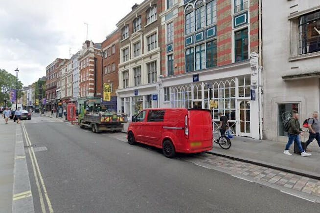 117 Long Acre, London, Retail To Let - Street View