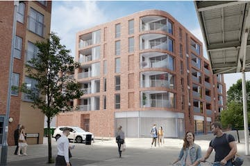 Land With Residential Planning Permission At, 362 Oxford Road, Reading, Residential / Development For Sale - CGI.jpg