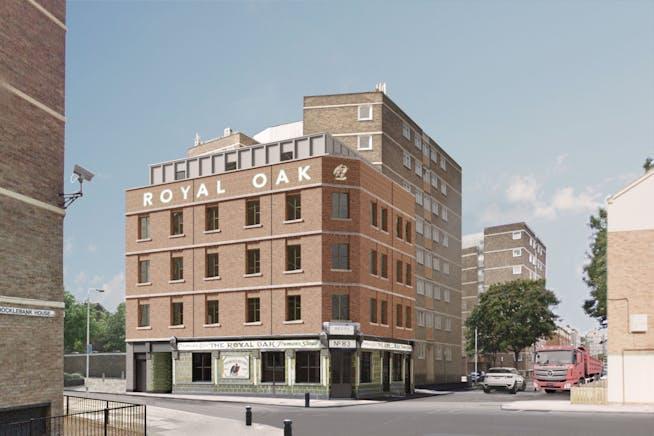 The Royal Oak, London, Leisure / Office / Retail To Let - View B .jpg