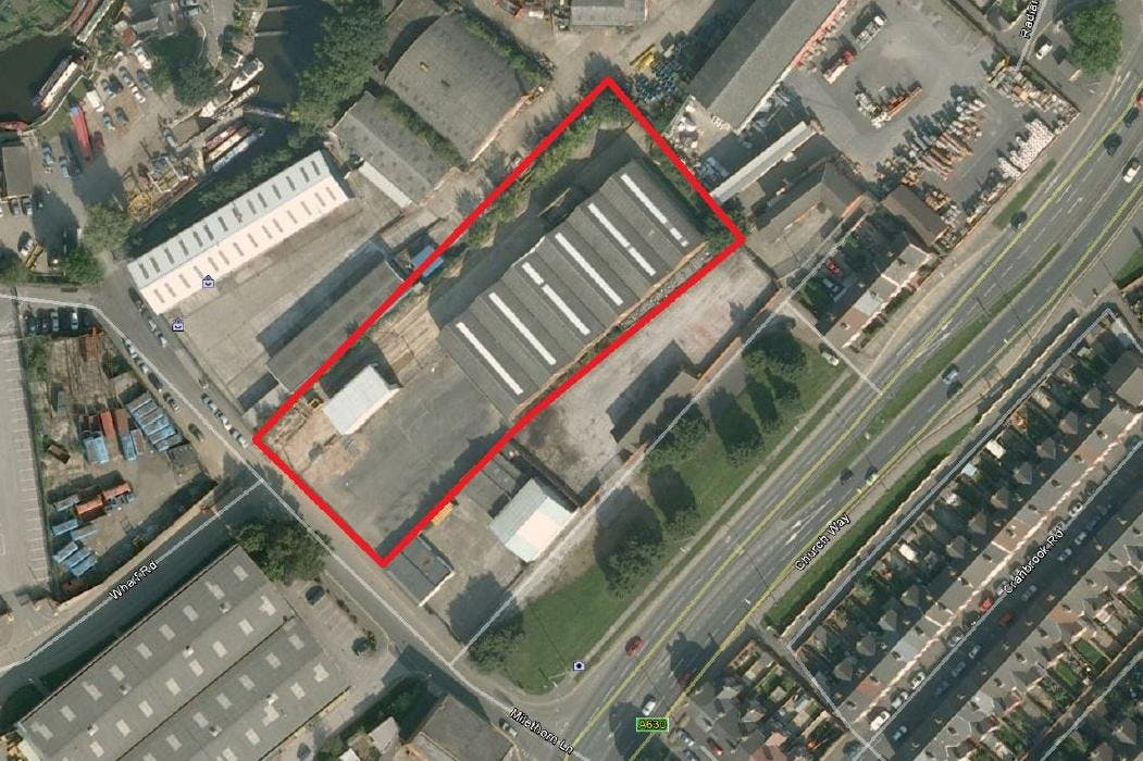 Milethorn Works, Milethorn Lane, Doncaster, Warehouse & Industrial To Let - Google Maps view.JPG