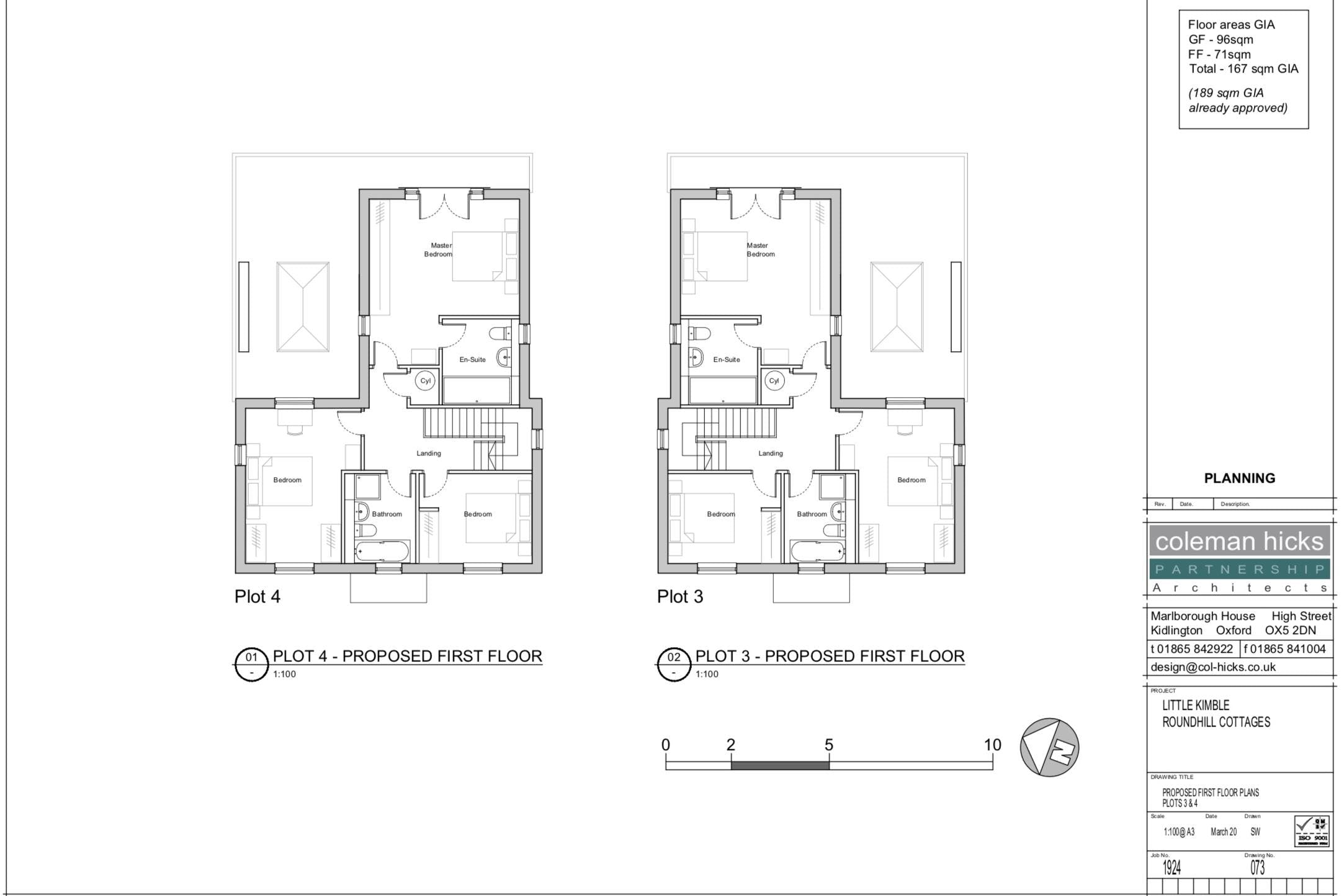 Building Plots, Roundhill Cottages Kimblewick Road, Little Kimble, Residential For Sale - PROPOSED FIRST FLOORS.jpg